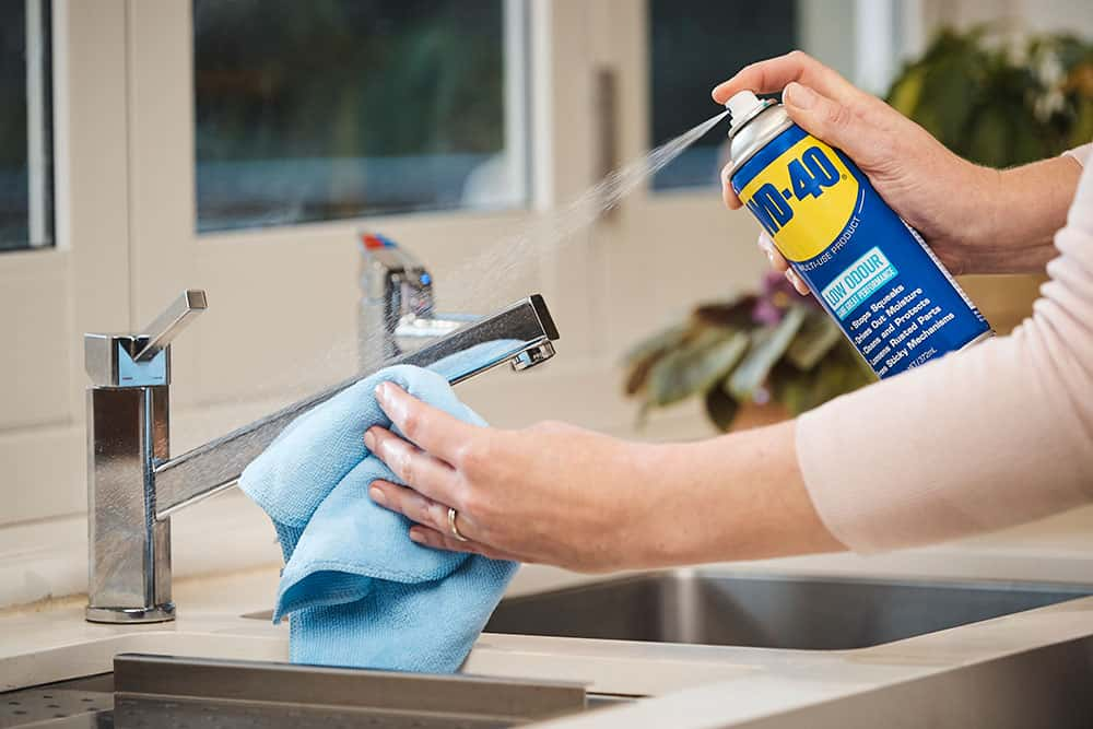 Clean A Stainless Steel Sink Easily With Wd 40 Wd 40 Australia